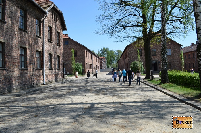 Auschwitz I  prin lagar