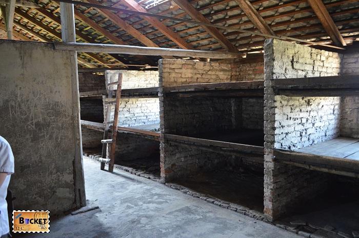Baracă - Lagărul de concentrare Birkenau