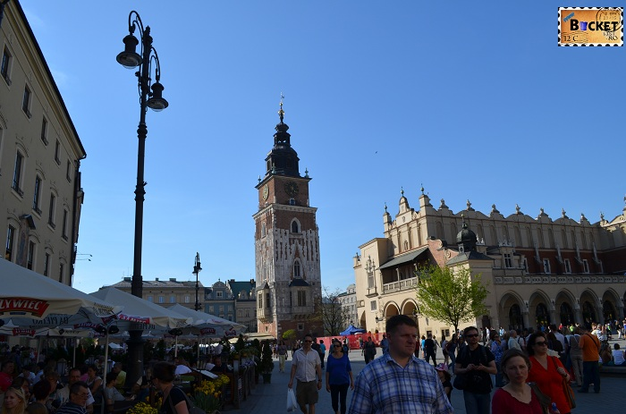 Bazilica Sf Maria din Cracovia si Sukiennice