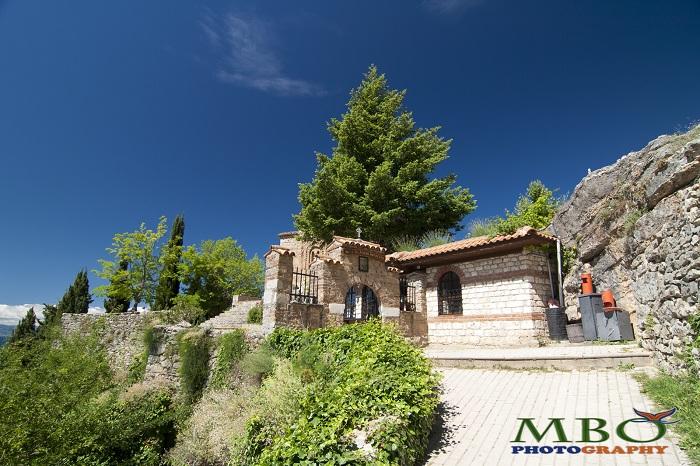 Biserica Sf. Ion Teologul - Kaneo -Ohrid Macedonia