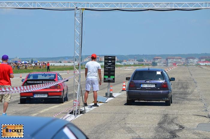 CS23VRT vs BH88NRB - Drag Racing