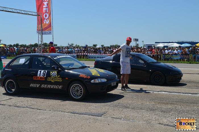 competiţia finală  Drag Racing - Oradea 2013