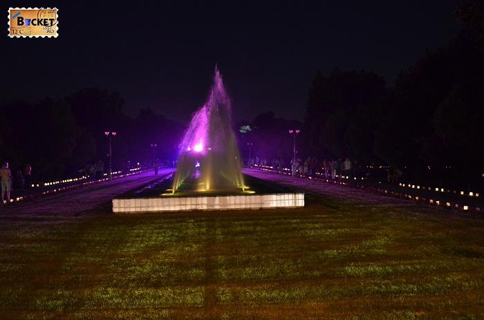 parcul 1 Decembrie - lumina