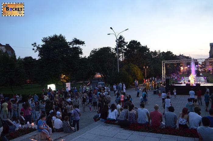 parcul 1 Decembrie - Concert