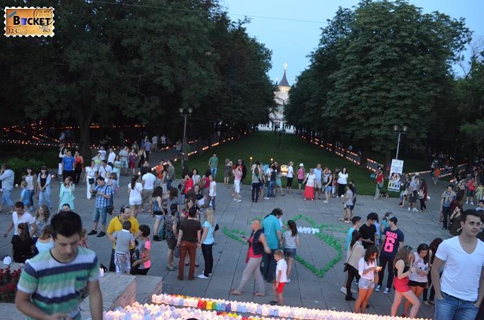 parcul 1 Decembrie - Casa de cultura Oradea