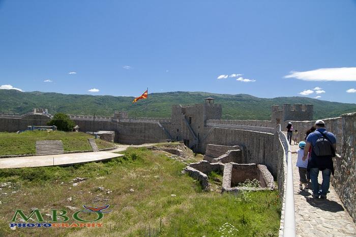 Fortareata Samuel din Ohrid Macedonia