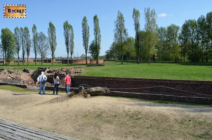 Krema II Birkenau Auschwitz