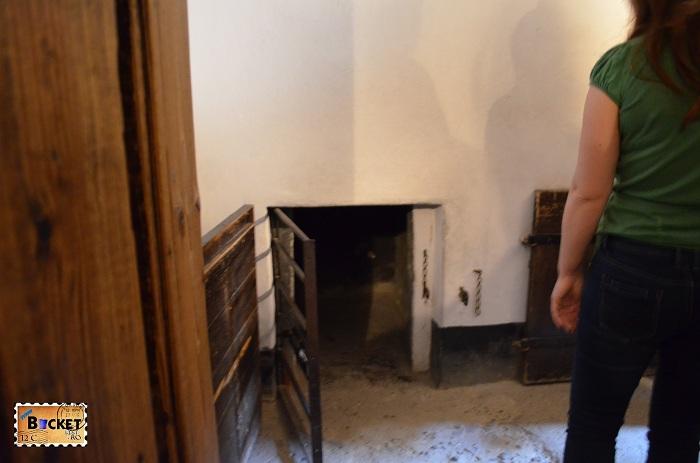 Lagărul Auschwitz I - barca nr 11 The death block - carcera