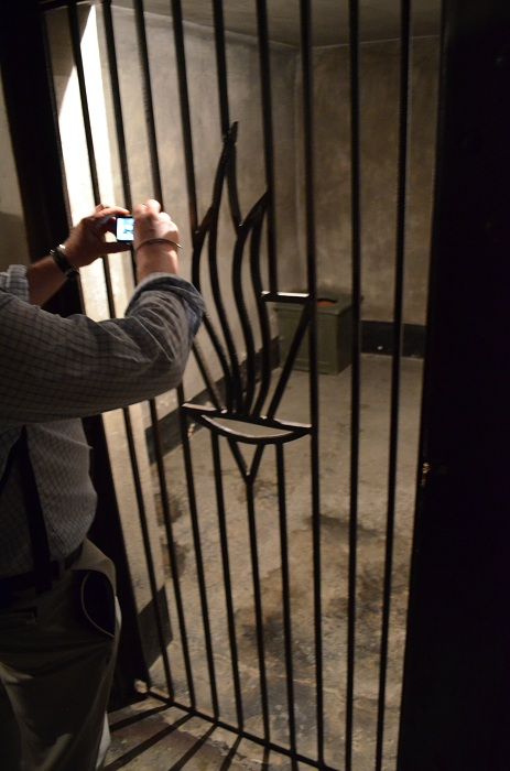 Lagărul Auschwitz I - barca nr 11 The death block - celula Maximilian Kolbe