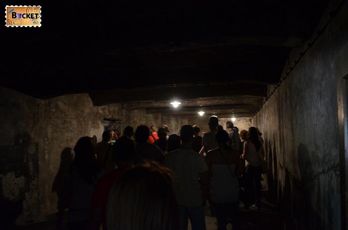 Lagărul Auschwitz I  camera de gazare