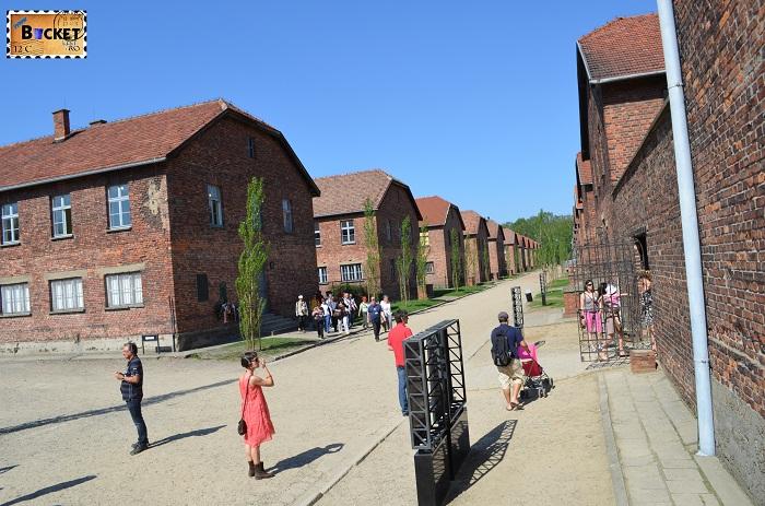 Lagărul Auschwitz I  the block