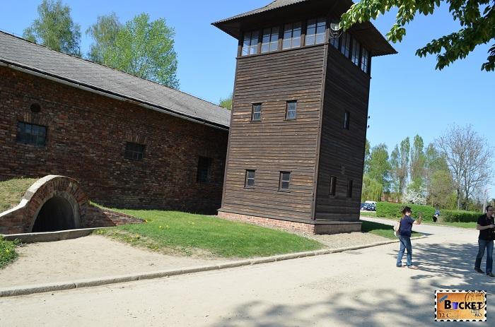 Lagărul Auschwitz I - turn de supraveghere
