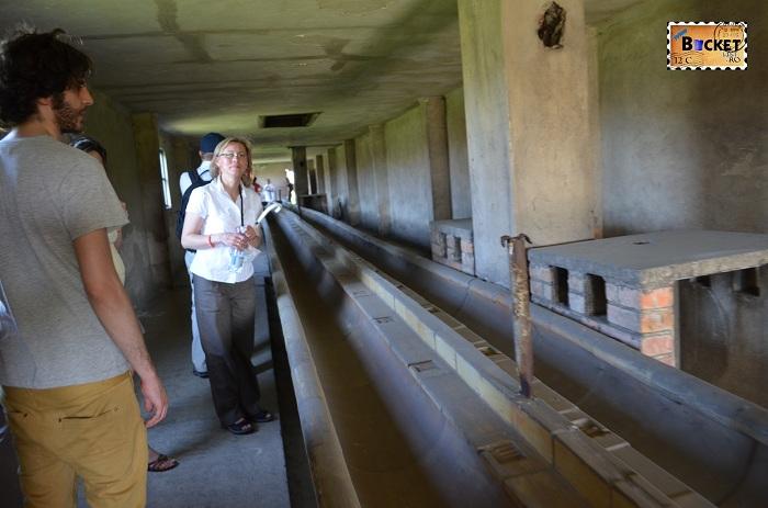 Lagărul de concentrare Auschwitz II - Birkenau - grup sanitar