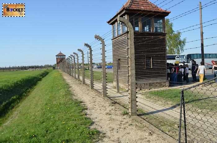 Lagărul de concentrare Auschwitz II - Birkenau iesirea