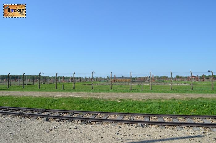 Lagărul de concentrare Auschwitz II - Birkenau -mărime