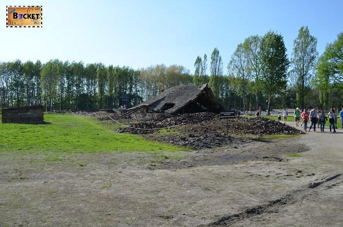 Lagărul de concentrare Birkenau - Krema II