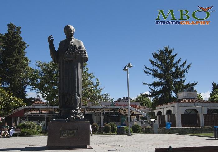 Ohrid Macedonia Monumentul Sf. Naum Ohridski