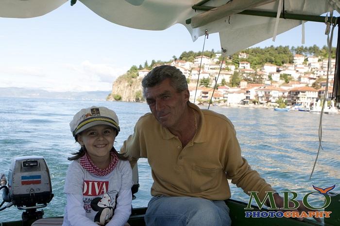 Ohrid Macedonia barcagiul Bobi Nikolovski