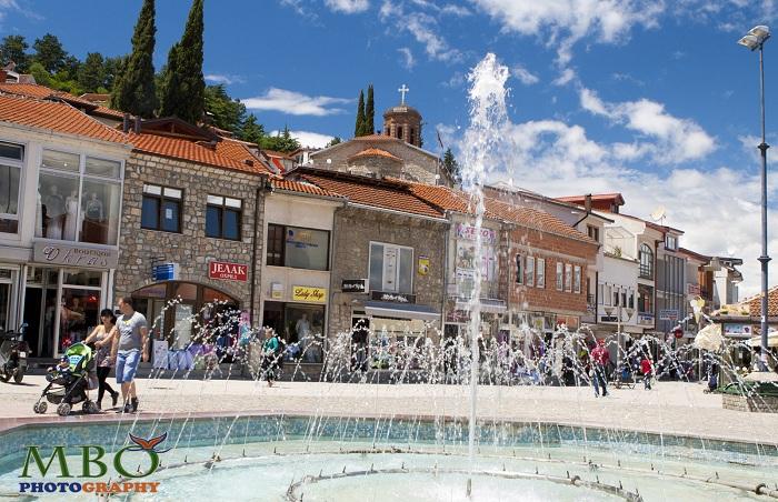 Piata Krushevska republika din Ohrid Macedonia