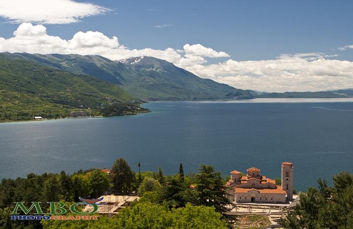 Sf Clement si Sf Panteleimon si lacul Ohrid