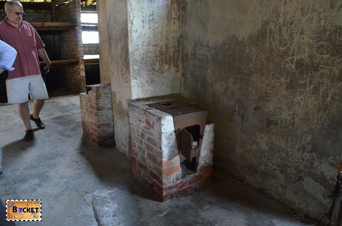 Sobă - Lagărul de concentrare Birkenau