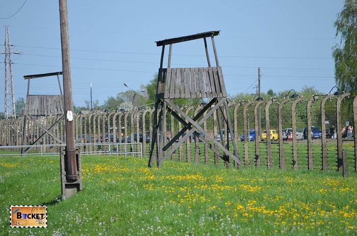 Turn de veghere in lagărul de concentrare - Birkenau