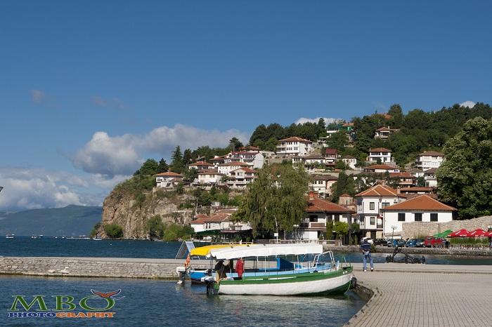 barci si Ohrid in Macedonia
