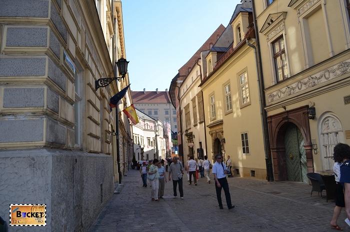 orasul vechi Cracovia