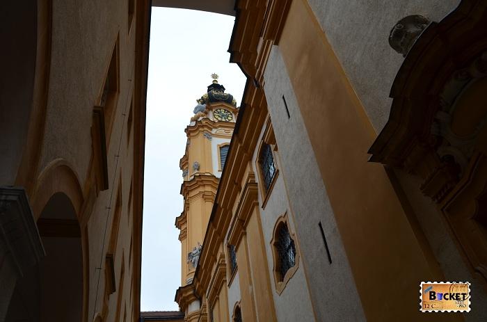 Exterior biserica - Abaţia din Melk