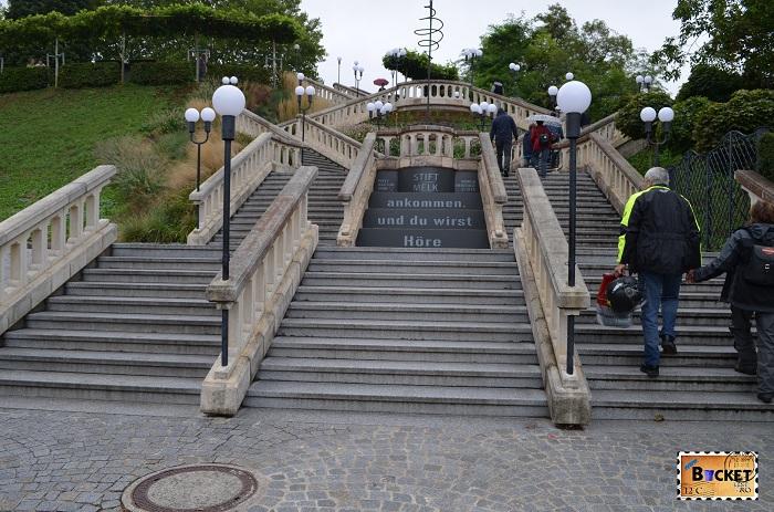 Parc - Abaţia din Melk