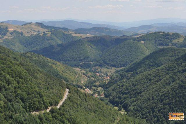 Kopaonik in drum spre Muntenegru