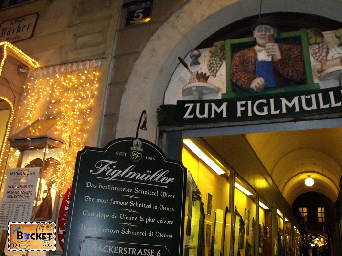 Restaurant Figlmüller Viena - şniţel în Viena