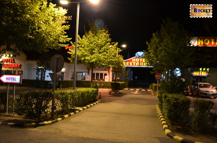 Unde să mănânci în drum spre Viena - Parcare Restaurant Paprika Csarda Hegyeshalom