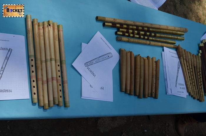 fluiere cavale fluierici şi ocarine la Târgul Meşterilor Populari din Oradea