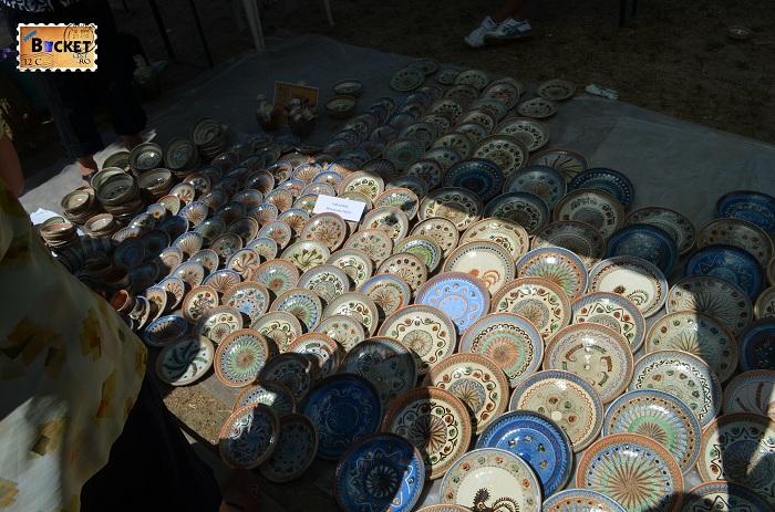 Ceramica de Hortezu la Târgul Meşterilor Populari