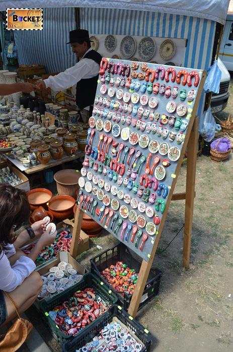 magneti din ceramica de Hortezu la Târgul Meşterilor Populari