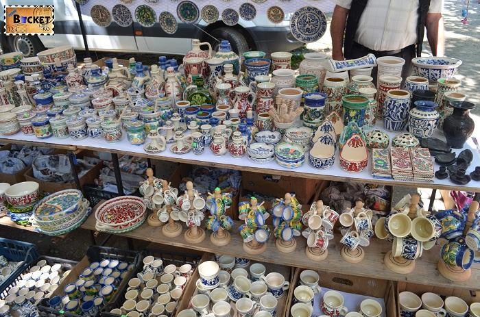 Vase de ceramica