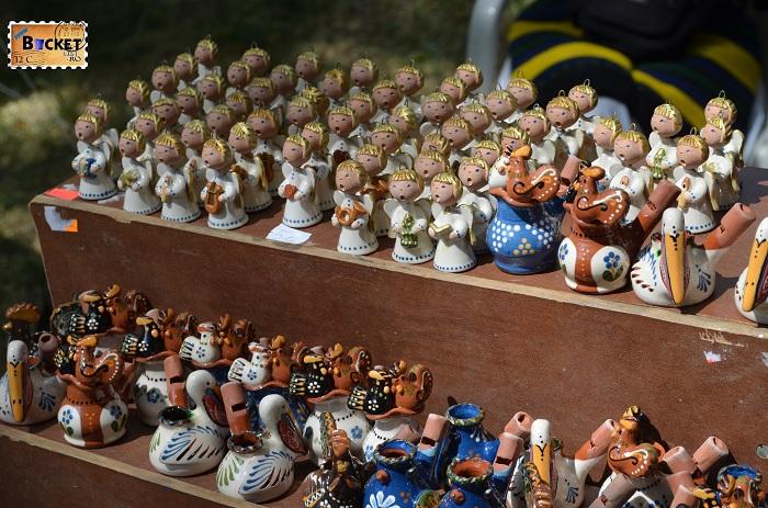 Fluier din ceramica - artizanat
