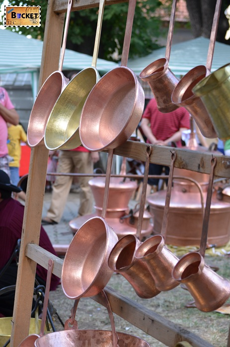 vase realizate din cupru