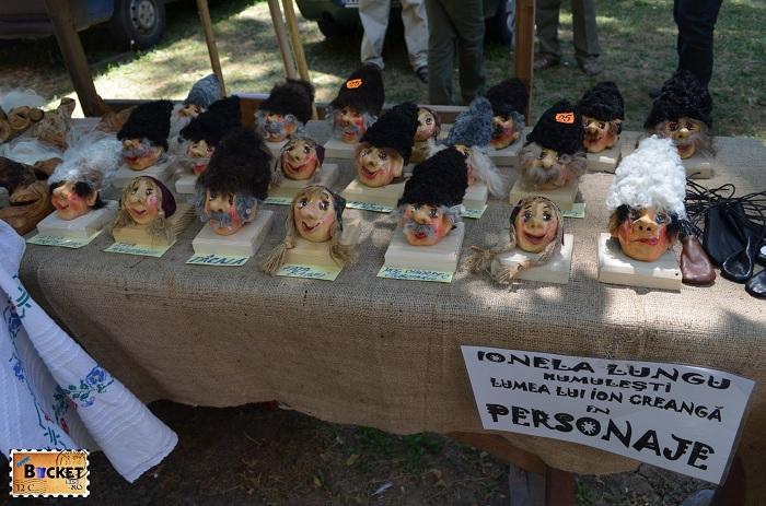 Personajele lui Creanga la  Târgul Meşterilor Populari din Oradea
