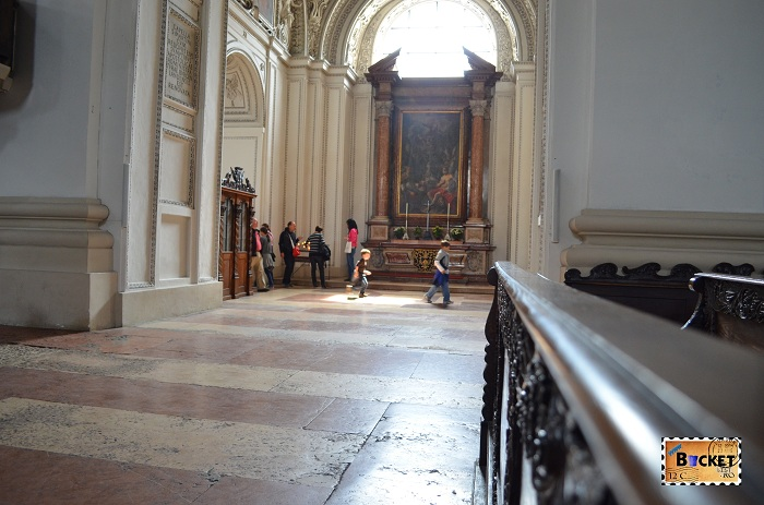 Catedrala Salzburg  -  Capela Sf Martin's