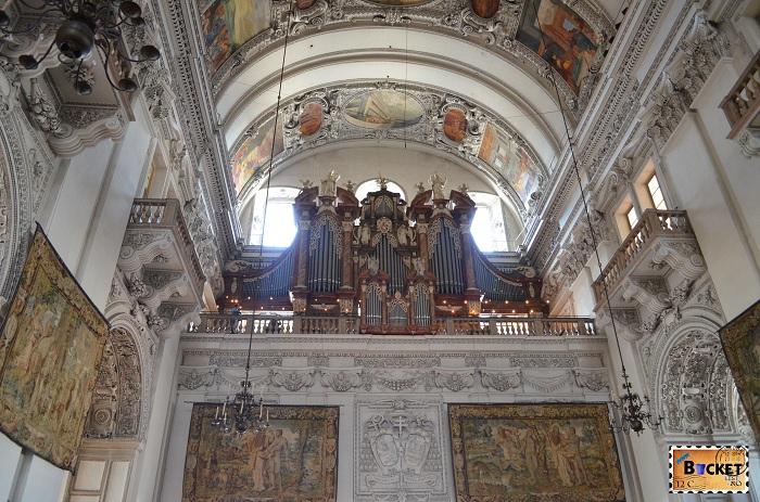 Orga Catedrala Salzburg