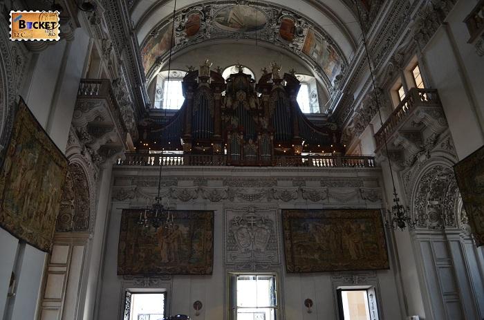 Orga principala - catedrala din Salzburg