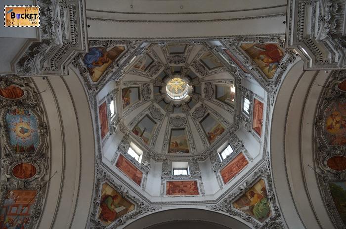 Domul  catedralei din Salzburg