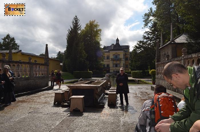 Hellbrunn Salzburg - prezentare Furstentisch