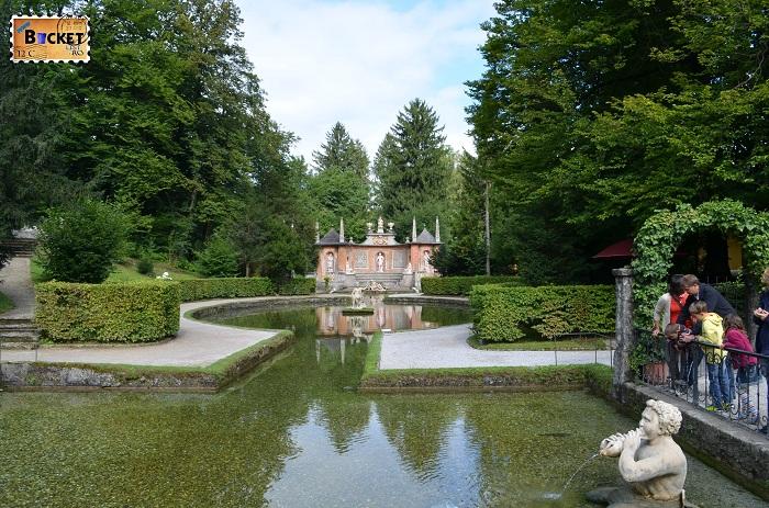 Lacurile si teatrul - Palatul Hellbrunn