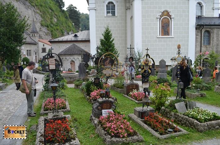 Abatia Sf Petru Salzburg - cimitirul Petersfriedhof