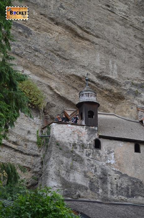 Catacombele din abatia Sf Petru Salzburg