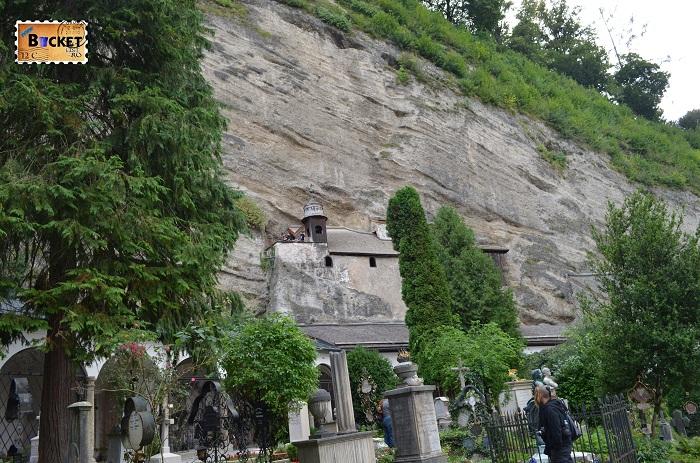 Catacomele si cimitirul din abatia Sf Petru - Salzburg