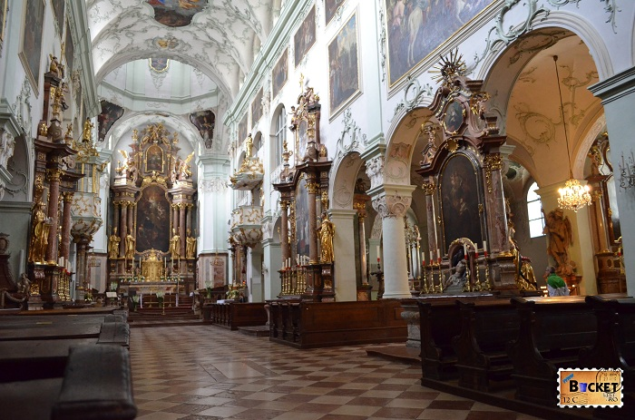 Salzburg - biserica Sfântul Petru